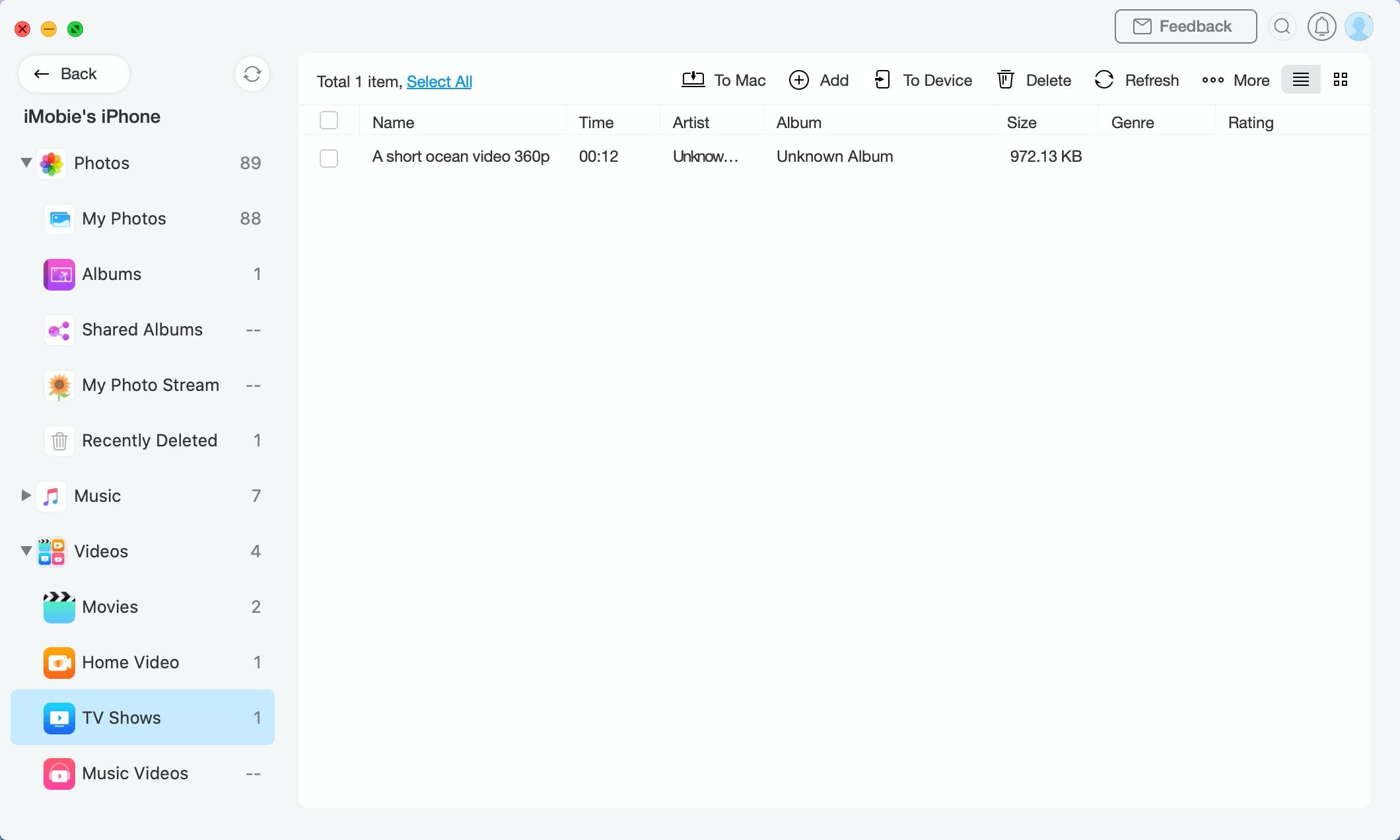 Display page