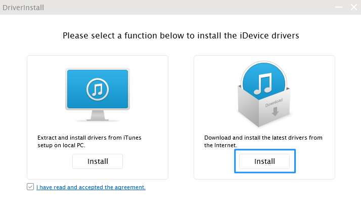 Drive Install