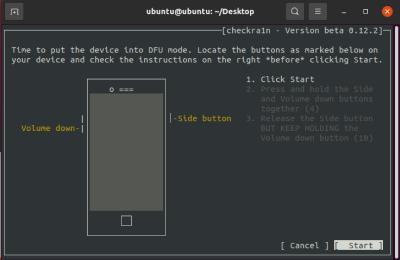 Put Device into DFU Mode
