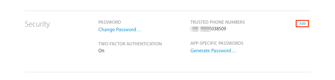How to Turn Off Two Factor Authentication for Apple ID – Step 5