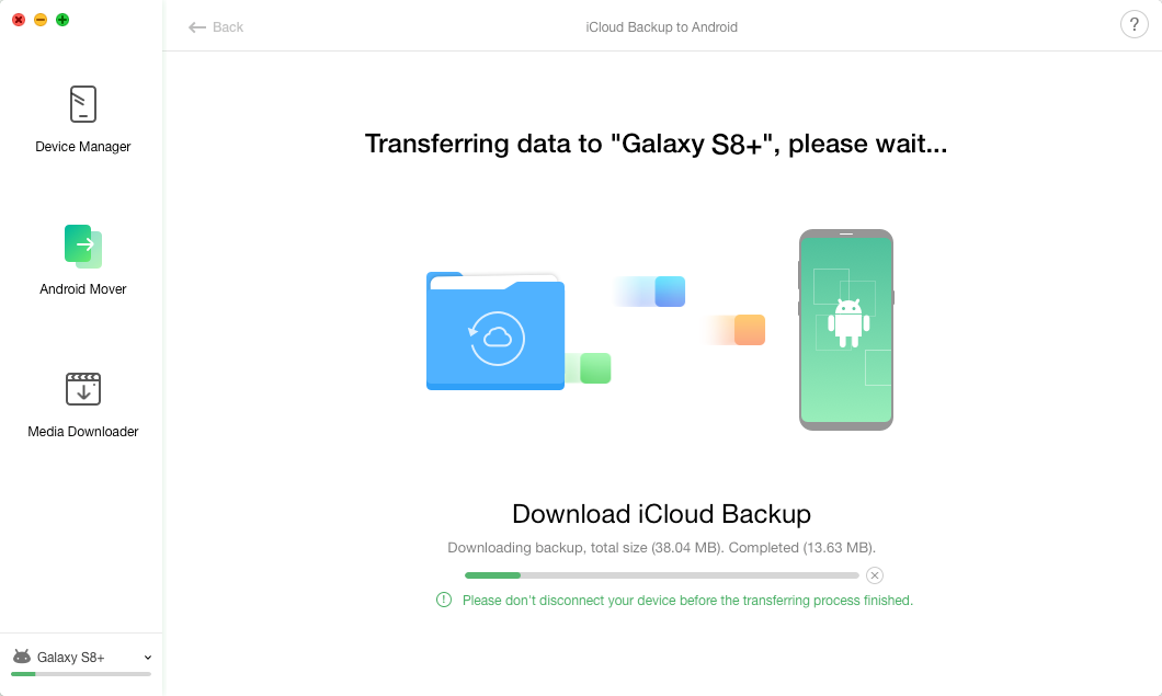 iCloud Backup to Android -6
