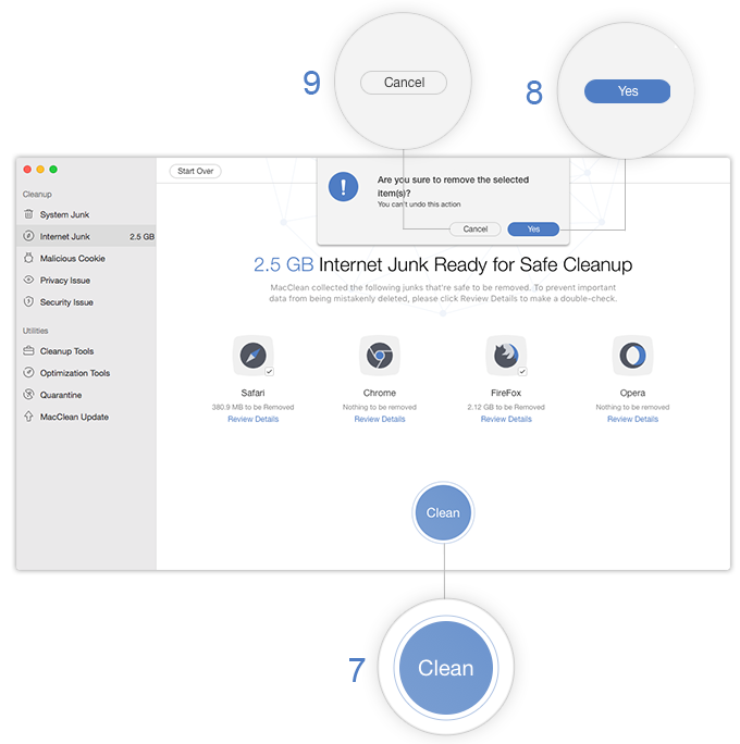 how to clean mac system junk
