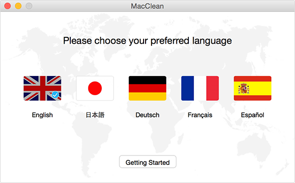 Choose Your Preferred Language