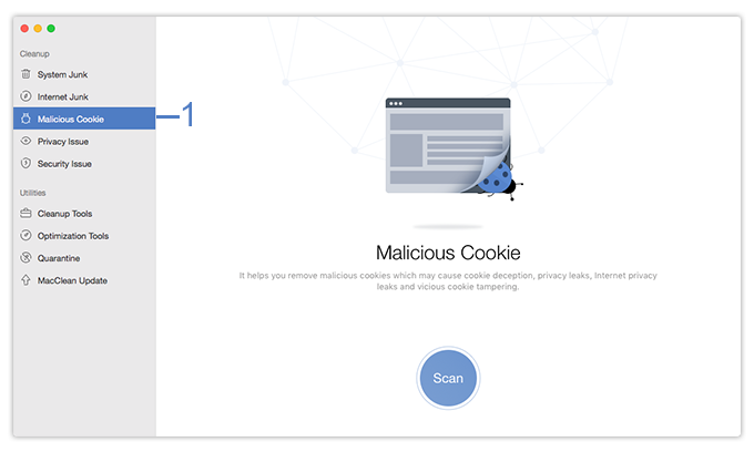 Select Malicious Cookie Function