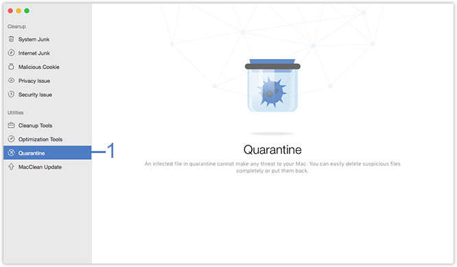 Select Quarantine Function