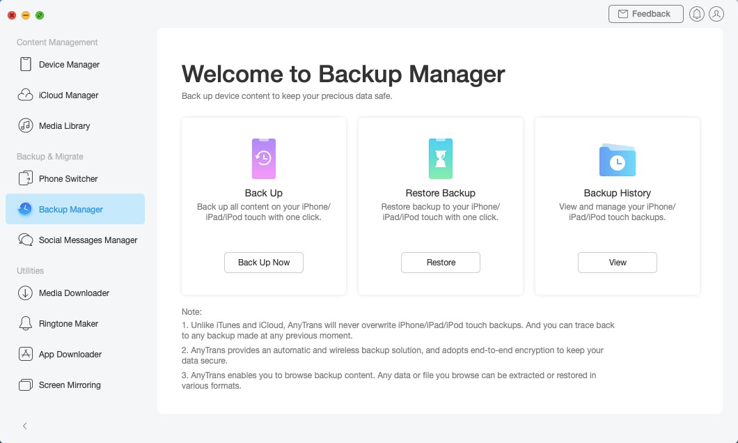 Restore Backup -3