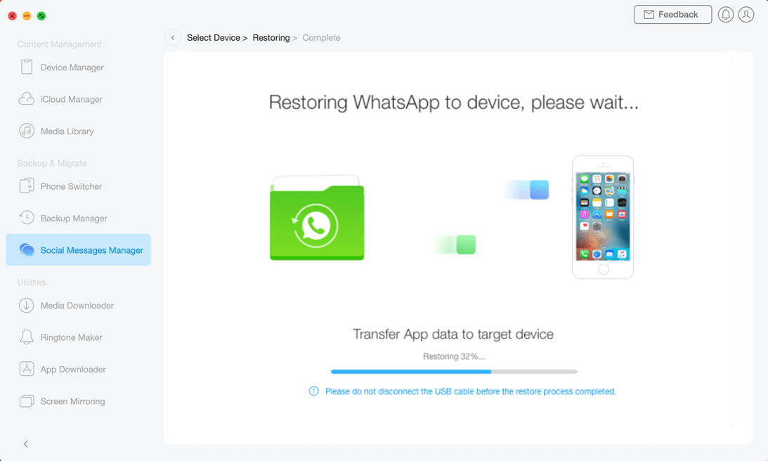 Restore Social Messages - 5
