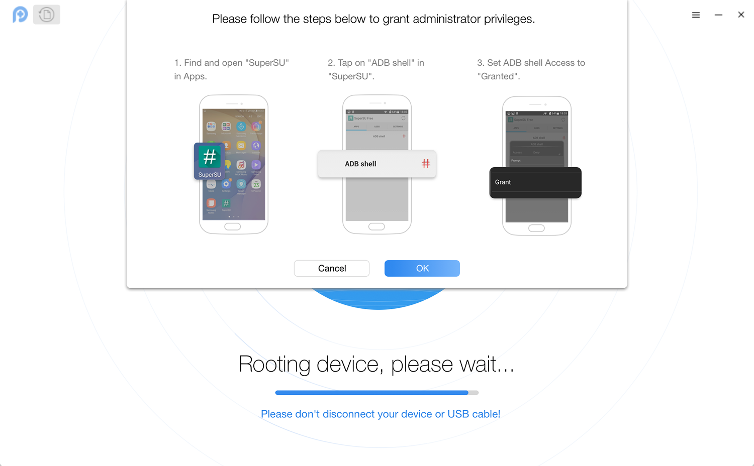 Your Device Has Been Rooted Successfully