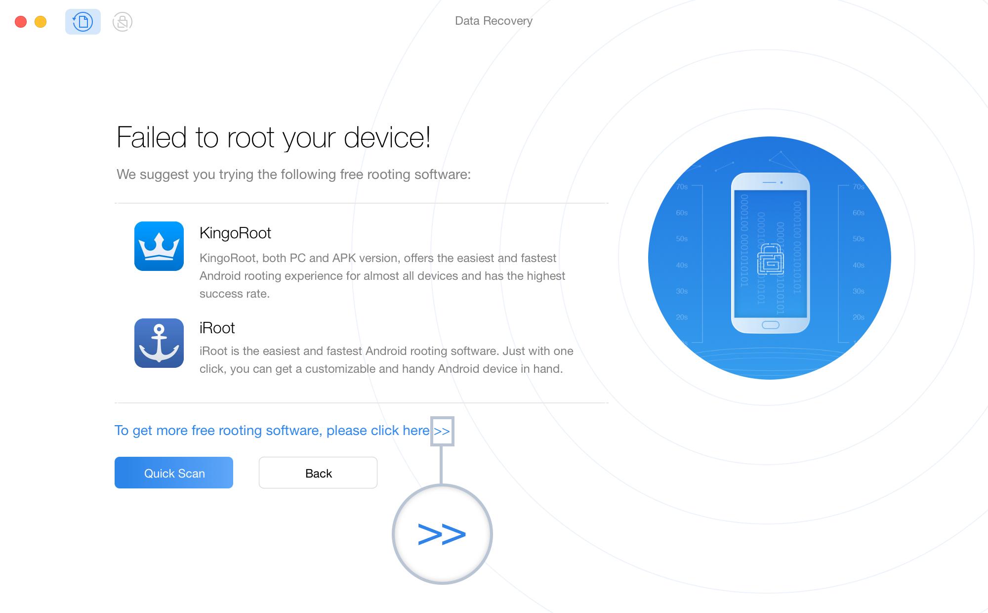 Teil 2. Vorsichtsmaßnahmen vor dem Rooten Ihres Android