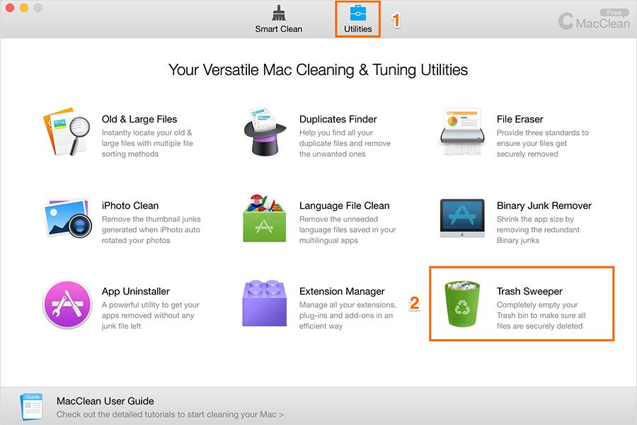 Choose Trash Sweeper