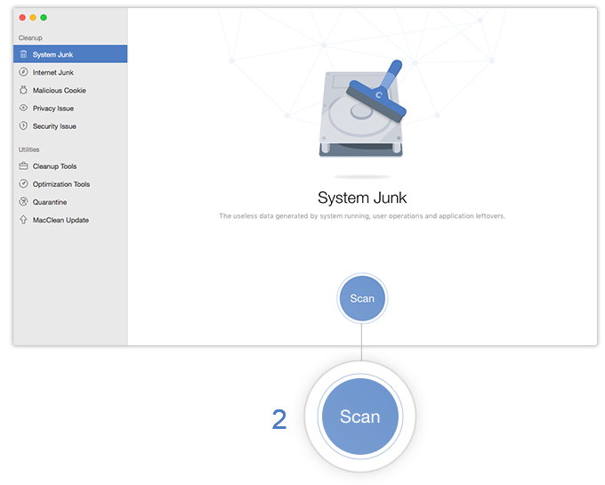 Scan System Junk