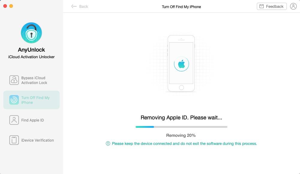 Removing Apple ID