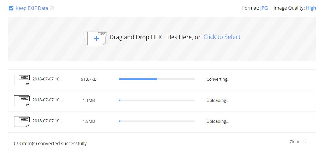 How to Bulk Convert HEIC Photos to JPG – Step 2