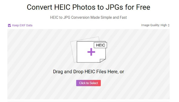 How to Bulk Convert HEIC Photos to JPG - Step 1