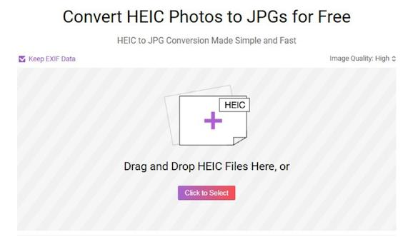 How to Bulk Convert HEIC Photos to JPG - Step 1