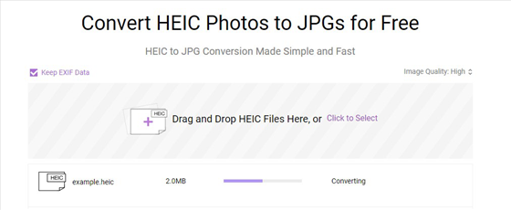 AnyGet HEIC Converter - Step 2