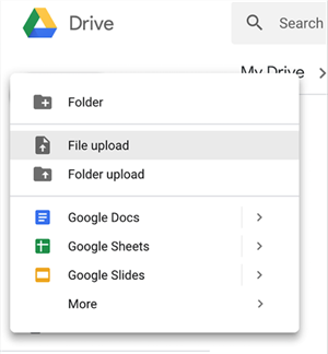 Upload Converted Photos to Google Drive