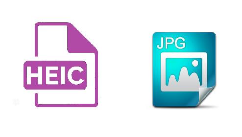 HEIC and JPG