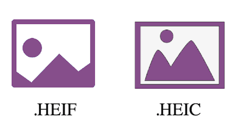 Compare of HEIF vs HEIC
