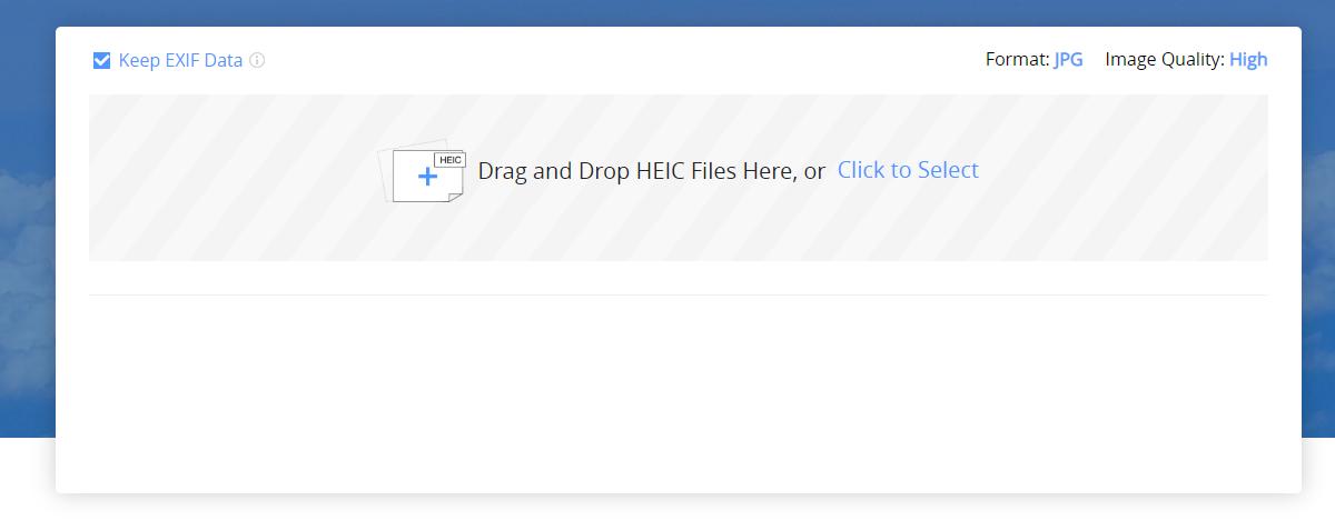 AnyGet HEIC Converter - Step 1