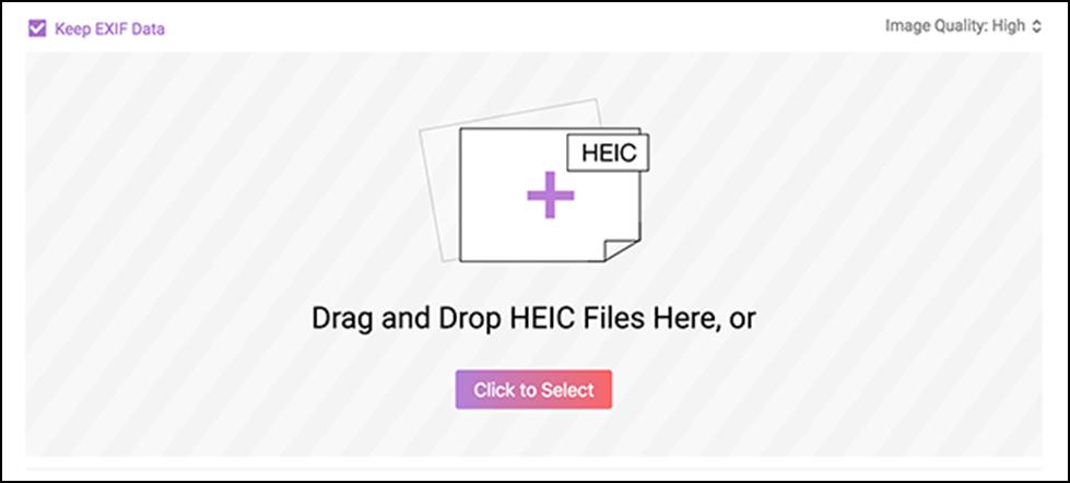 Convert HEIC to JPG using AnyGet HEIC Converter on Windows 10