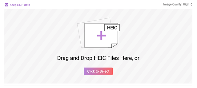 Use AnyGet HEIC Converter to open HEIC files on a Mac