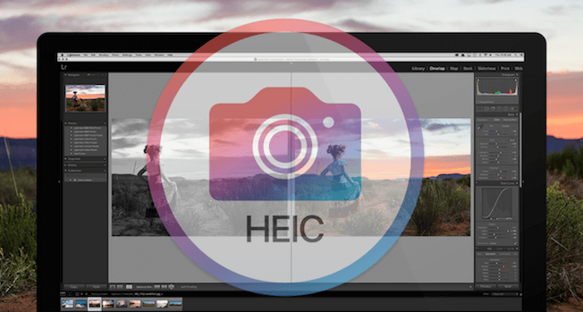 How to Import HEIC into Lightroom on Computer