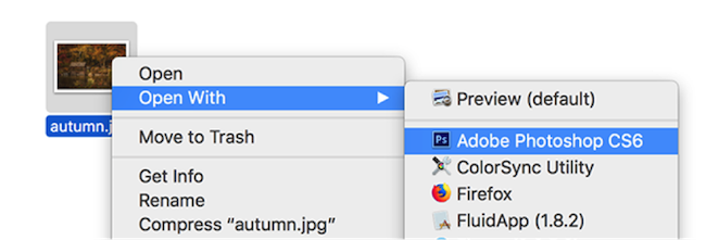 Open Converted HEIC Files in Photoshop