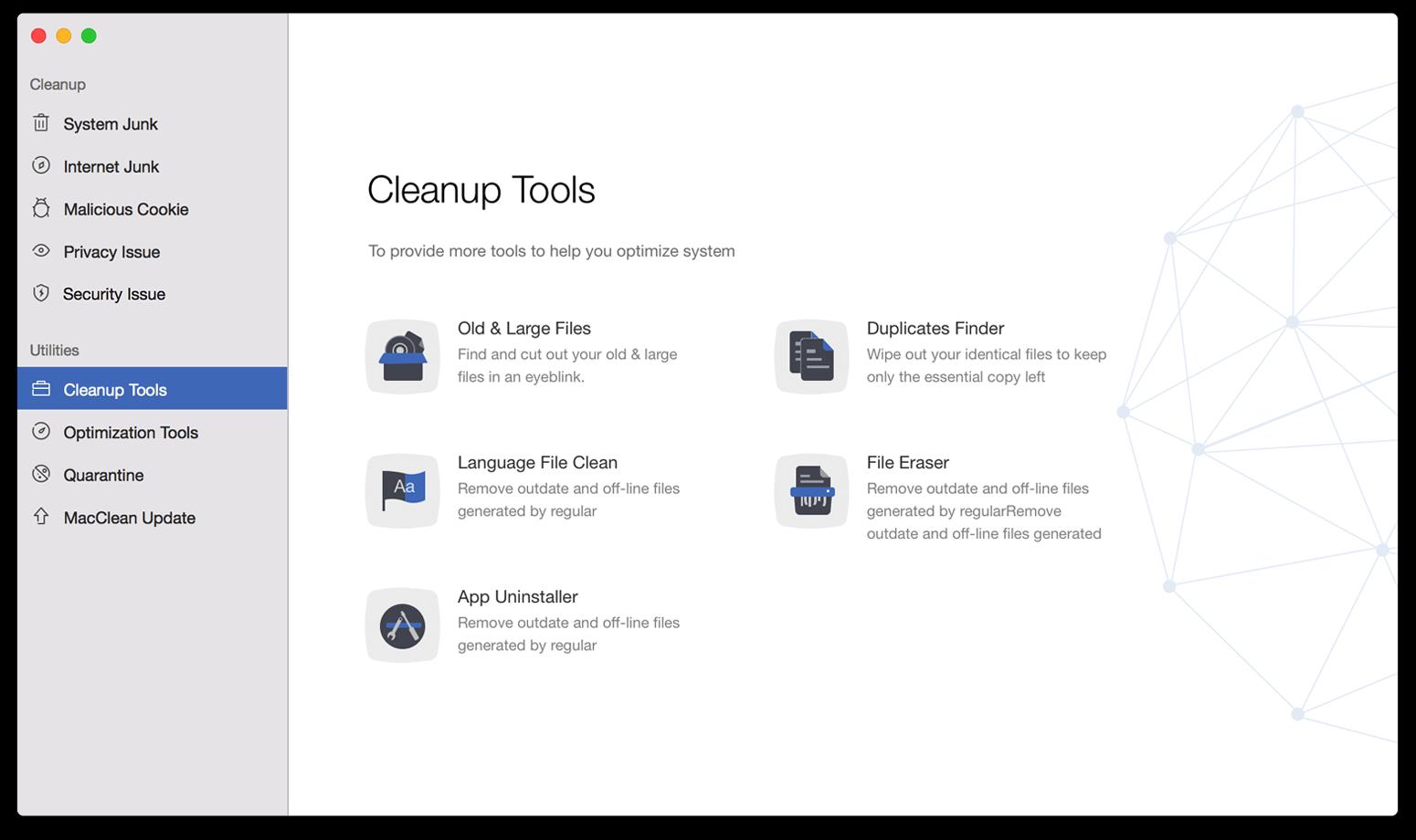MacClean for Mac 3.2.0 破解版 – 清理、优化、隐私和安全防护-爱情守望者
