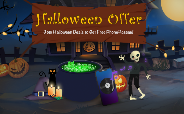 2017 Halloween PhoneRescue for iOS Giveaway