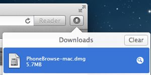 Free Download PhoneBrowse 1