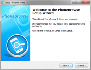 Free Download PhoneBrowse 3