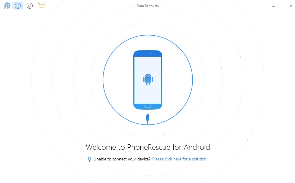 PhoneRescue for Android full screenshot