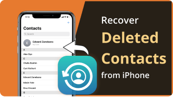 Recover iPhone Contacts Without Backups