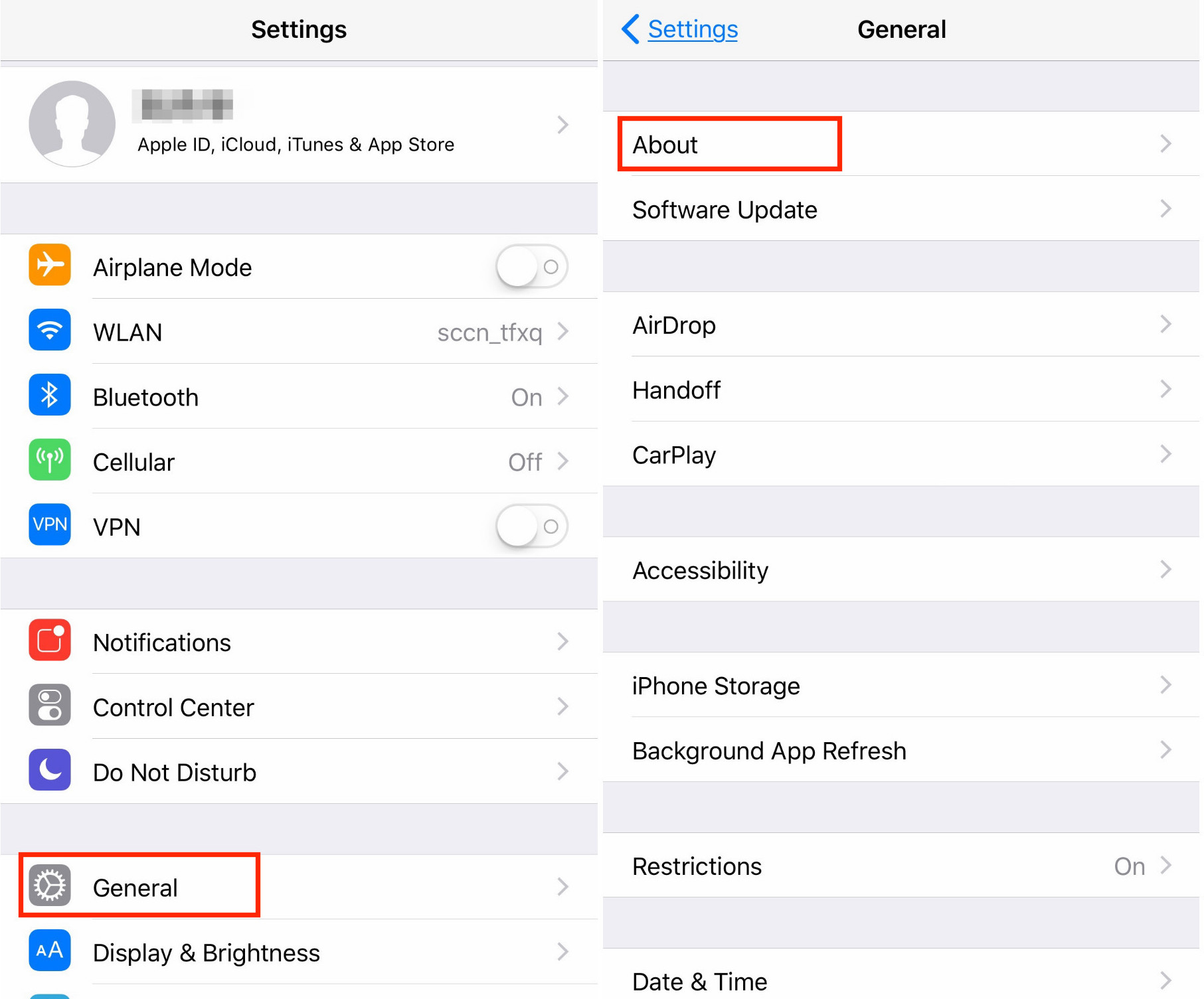 How to Check 32-Bit Apps on iPhone iPad in iOS 11 - Step 2