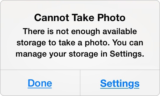 How to Free Up Space on iPhone or iPad – Backup Camera Roll