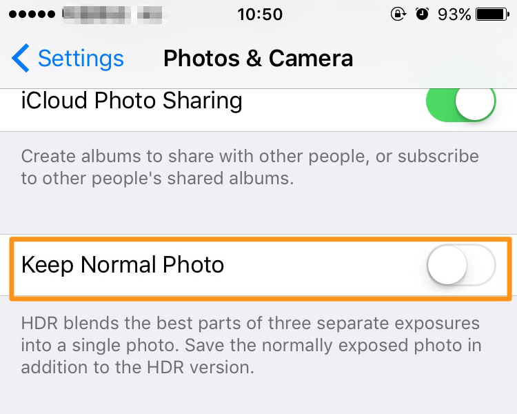 "How to Free Up Space on iPhone or iPad – Turn off ""Keep Normal Photo"" on iPhone"