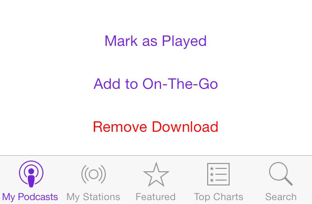 Free Up Disk Space on iPhone or iPad – Remove Podcasts and Voicemails on iPhone
