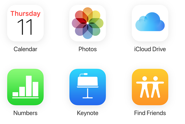 View the iPhone Photos on the iCloud Web