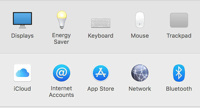 Launch iCloud Settings Panel on Mac