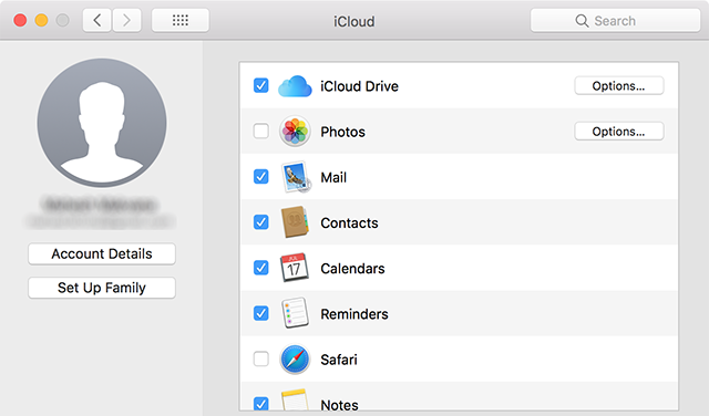 Sync iCloud Content with Mac