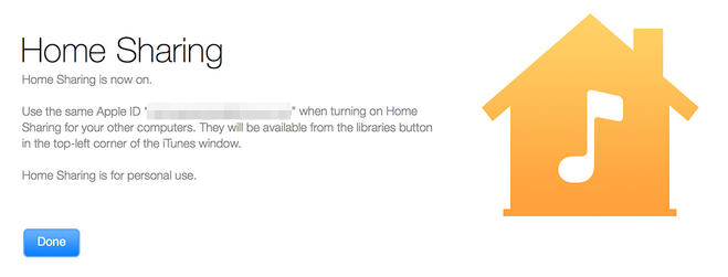 Access iTunes Library by Using Home Sharing