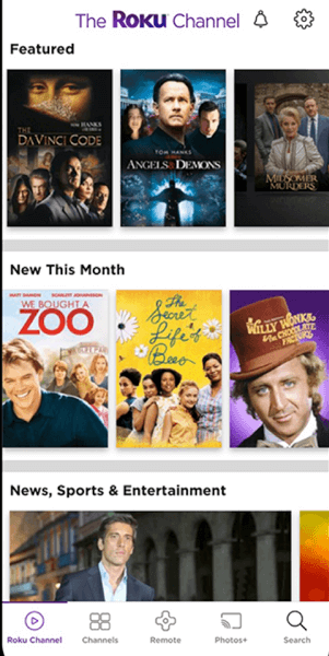 Access the Photos+ Section in the Roku App