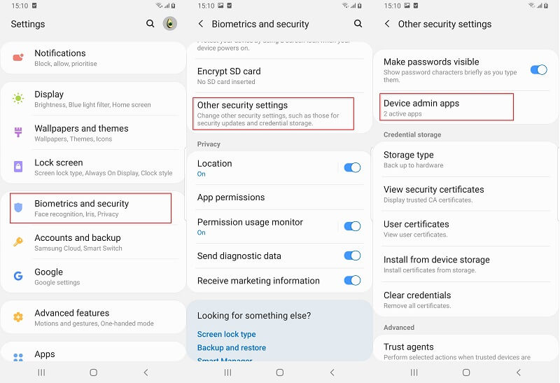Activate Unknown Scources on Android Phone