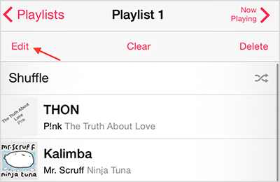 How to Add Songs to Playlist on iPhone – Step 2