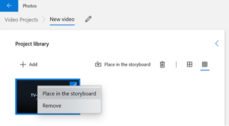 Add the Video to Timeline for Editing