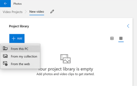 Add Videos from PC to the App
