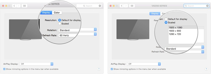 How to Adjust the Resolution of Your Mac's External Display