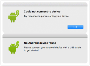 Android File Transfer No Android Device Found