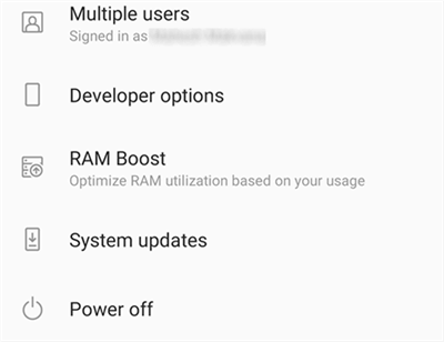 Update Android System